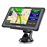 AWESAFE GPS Navi Navigation für Auto LKW PKW KFZ Navigationsgerät 7 Zoll Lebenslang Kostenloses Kartenupdate 2021 Europa Karten