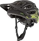 O'NEAL | Fahrradhelm Mountainbike | MTB Downhill Freeride | All-Mountain-/Enduro-Helm, einstellbare Passform | Thunderball Helmet Airy | Erwachsene | Schwarz Neongelb | Größe XXS/52-M/57
